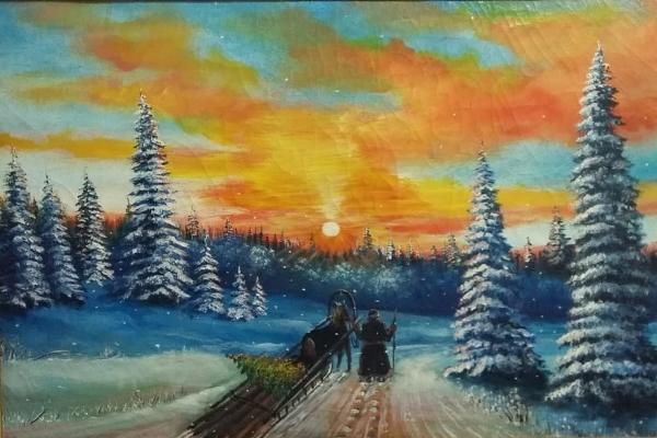 В УФСИН состоялся конкурс православной живописи среди осужденных
