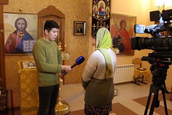 Осужденные колонии-поселения № 2 приняли крещение в православном храме