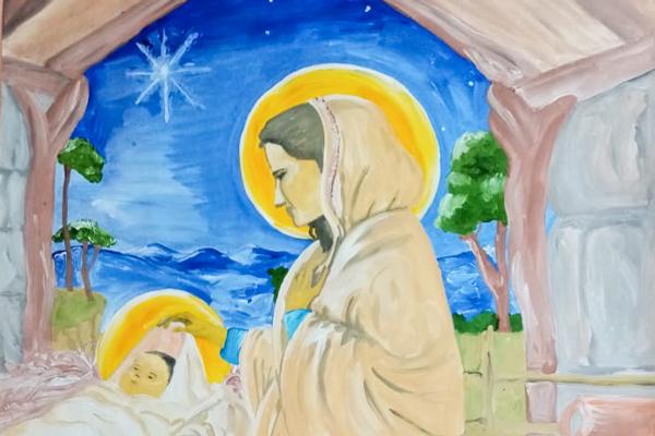 В исправительной колонии № 6 проведен конкурс рождественских рисунков