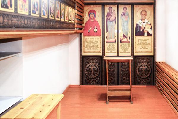 В исправительном центре открылась молельная комната